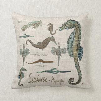 Seahorses, Sea dragons, and Sea pipes Cushion