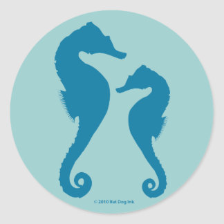 Seahorses Stickers