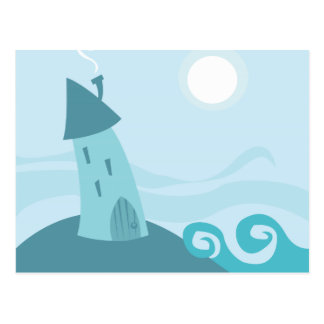 Seahouse Postcard
