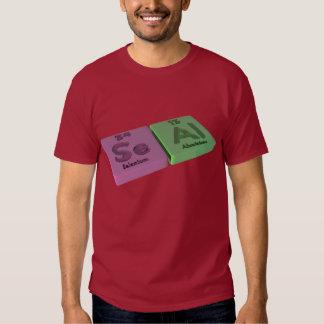 Seal as Se Selenium and Al Aluminium Tshirts