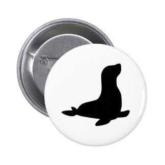 Seal 6 Cm Round Badge