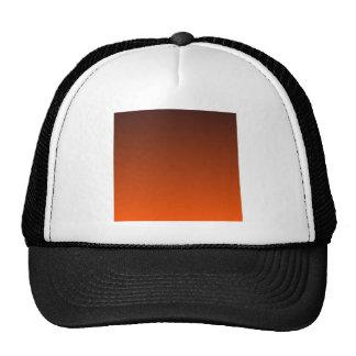 Seal Brown to Tangelo Horizontal Gradient Hats