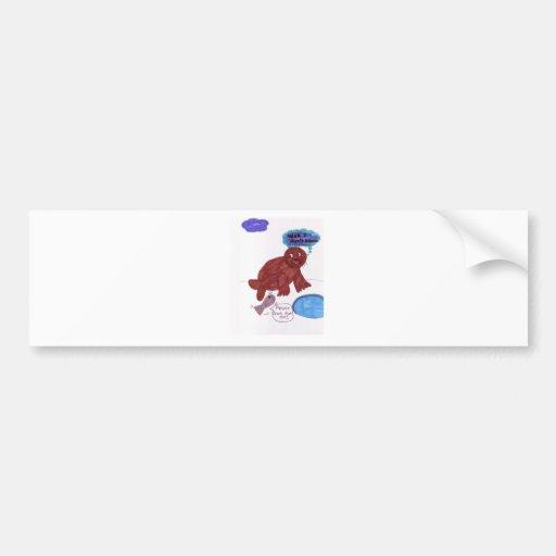 Seal Bumper Sticker