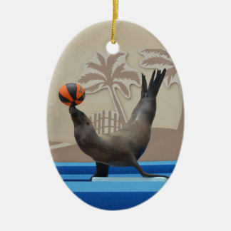 Seal (California Sea Lion) Christmas Ornament