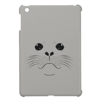 Seal face silhouette iPad mini cover