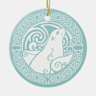 Seal in Snow Christmas Ornament
