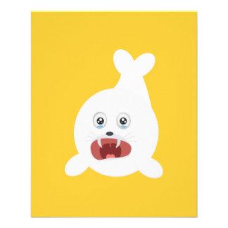 Seal is crying Zr2rw 11.5 Cm X 14 Cm Flyer