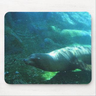seal mouse mat