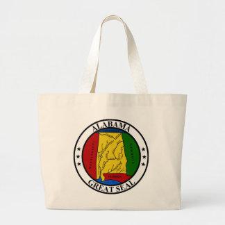 Seal of Alabama Bags