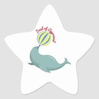 Seal of Approval Star Stickers