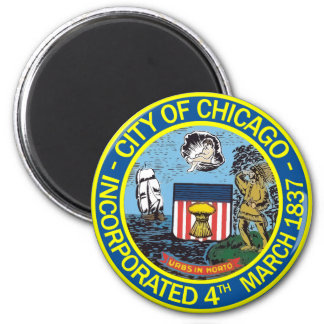 Seal of Chicago, Illinois Magnet