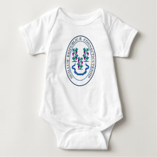 Seal of Connecticut Baby Bodysuit