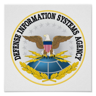 Seal of Defense Information Systems Agency Poster