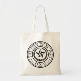 Seal of El Paso Budget Tote Bag