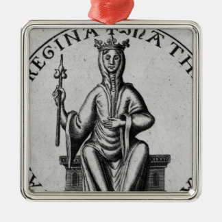 Seal of Empress Matilda Christmas Ornament