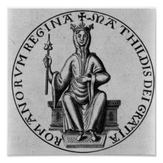 Seal of Empress Matilda Poster