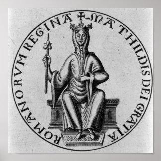 Seal of Empress Matilda Print