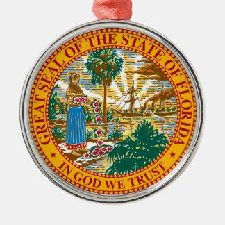 Seal of Florida Christmas Tree Ornaments