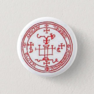 Seal of Gabriel 3 Cm Round Badge
