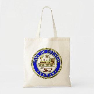 Seal of Houston Budget Tote Bag