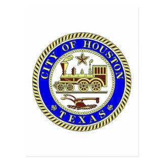 Seal of Houston Postcard