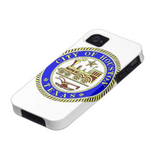 Seal of Houston Vibe iPhone 4 Case
