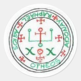 Seal of Raphael Round Sticker