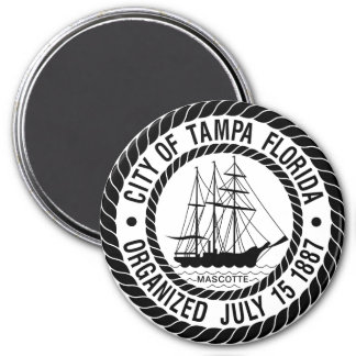 Seal of Tampa, Florida Magnet