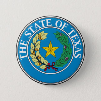 Seal of Texas 6 Cm Round Badge
