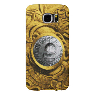 SEAL OF THE KNIGHTS TEMPLAR gold yellow Samsung Galaxy S6 Cases