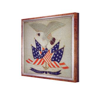 Seal of the United States of America, c.1840 Canvas Print