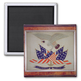 Seal of the United States of America, c.1840 Square Magnet