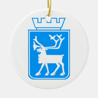Seal of Tromso, Norway. Christmas Ornament