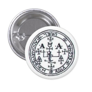 Seal of Uriel 3 Cm Round Badge