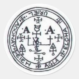 Seal of Uriel Round Sticker