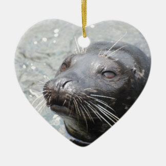 Seal  Ornament