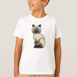 Seal Point Birman / Ragdoll Cat T-Shirt
