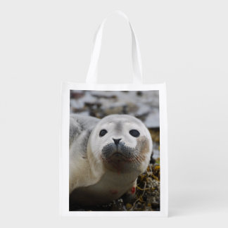 Seal Pup Reusable Grocery Bags
