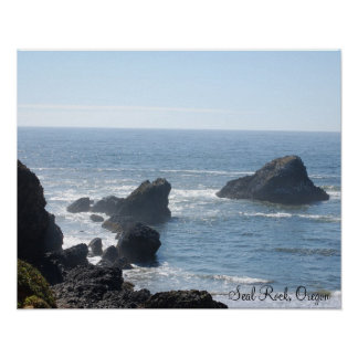 Seal Rock, Oregon Poster