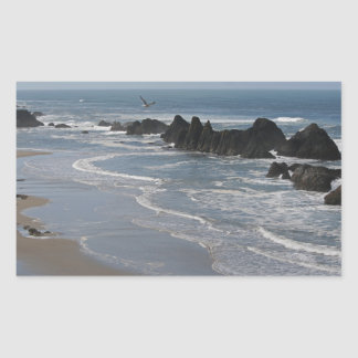 Seal Rocks, Oregon Rectangle Stickers