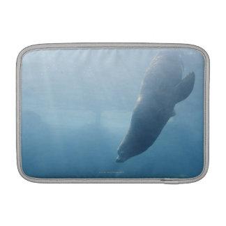 Seal swimming under the water MacBook sleeve