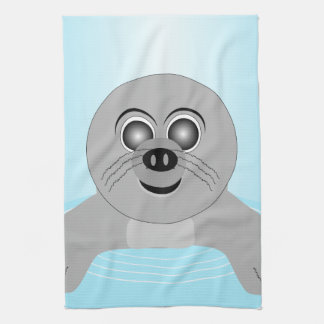 Seal Tea Towel