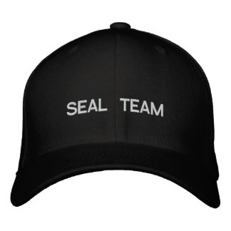 SEAL TEAM EMBROIDERED HAT