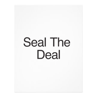 Seal The Deal ai Personalized Flyer