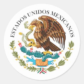 Seal the Government Mexico, Mexico Round Sticker