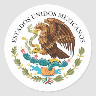 Seal the Government Mexico Mexico Stickers