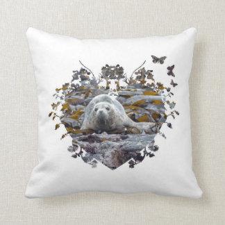 seal wildlife animal cushion