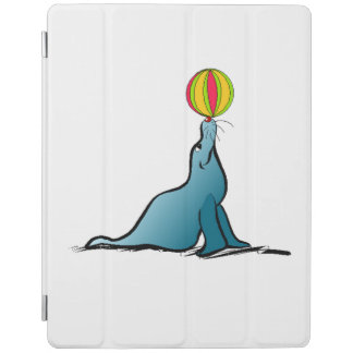 Seal With Ball iPad Cover