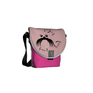 Seal with fabulous whiskers commuter bags