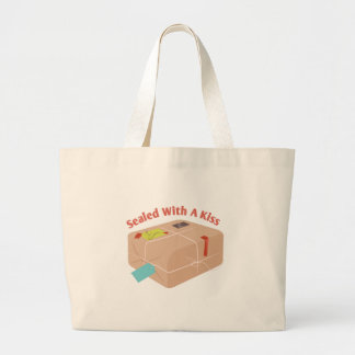 Sealed With A Kids Large Tote Bag